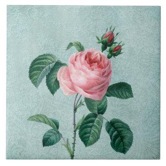 Romantische Spitze-Rose Keramikfliese