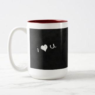 Romantische Tafel-Tasse Zweifarbige Tasse