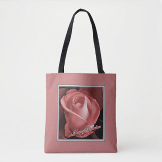 Romantische Valentines-Rote Rose Tasche
