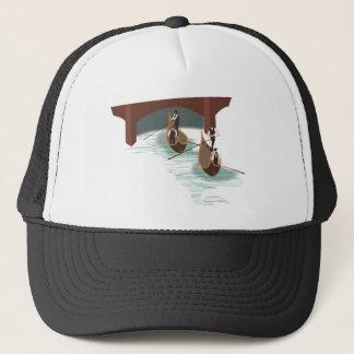 Romantische Venedig-Gondeln Truckerkappe