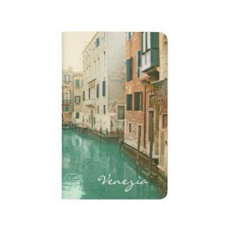 Romantische Venedig-Taschen-Zeitschrift Taschennotizbuch