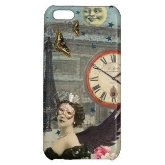 Romantische Zellen-Abdeckung Paris iPhone 5C Cover