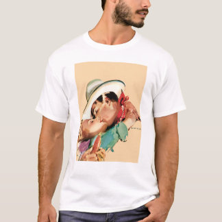 Romantischer Cowboy T-Shirt