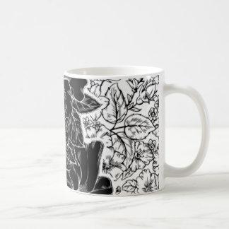 Romantischer Hibiskus fertigen kundenspezifisch an Kaffeetasse