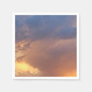 Romantischer Himmel, Papierservietten