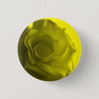 Romantischer niedlicher Rosen-Knopf Runder Button 3,2 Cm