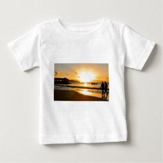 Romantischer Sonnenuntergang Baby T-shirt