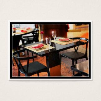 Romantisches Abendessen für zwei Visitenkarte