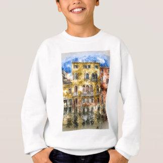 Romantisches Canal Grande Venedigs Italien Sweatshirt