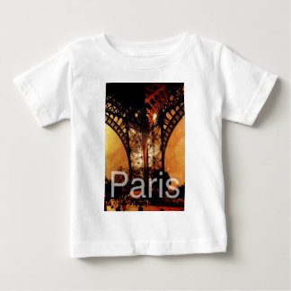 Romantisches Paris Baby T-shirt