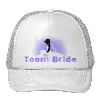romantisches Vintages Braut-Silhouette-Brautparty Netzcap