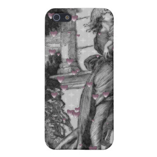 Romeo u. Juliet Vintage Valentine-Herzen iPhone 5 Etui