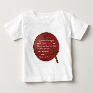 Römer-10:9 Baby T-shirt
