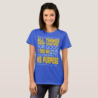 Römer-8:28 arbeiten alle Sachen für gutes zusammen T-Shirt