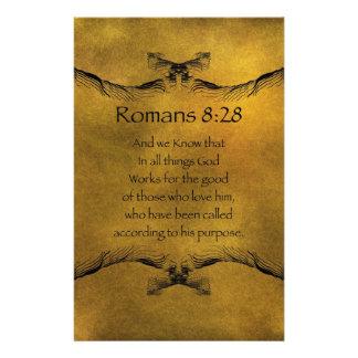 Römer-8:28 Briefpapier