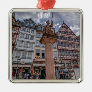 Romer Frankfurt Silbernes Ornament