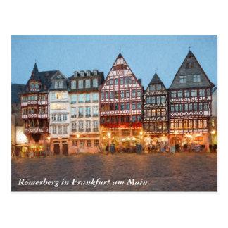 Romerberg Postkarte