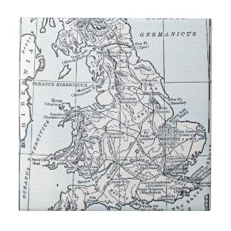 Römische ANZEIGE Großbritanniens 43 Fliese