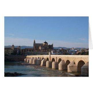"""Römische Brücke"" in Cordoba Karte"