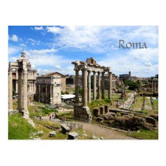 Römische Forum-Postkarte Postkarte