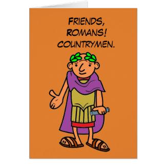 Römische Kaiser-alles- Gute zum Geburtstaggrüße Grußkarte