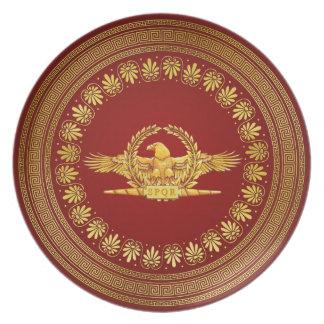 Römische KaiserEagle-Platte Teller