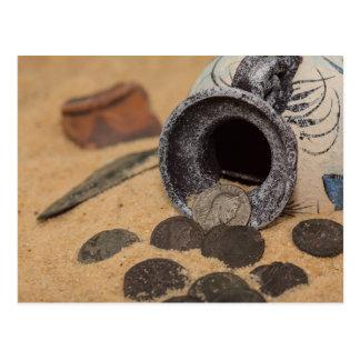 Römische Münzen Postkarte