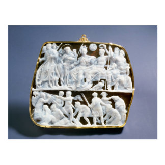 Römische Onyxminiatur, ANZEIGE des 1. Jahrhunderts Postkarte