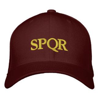 Römische Republik SPQR Bestickte Baseballkappe