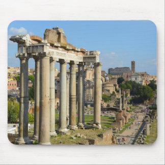 Römische Ruinen in Rom Italien Mauspads
