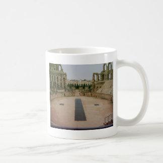 Römische Ruinen Tunesien Kaffeetasse