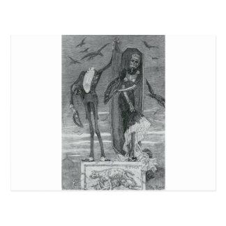 Römische Skelette Postkarten