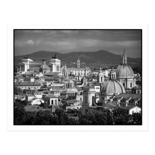 Römische Skyline-Postkarte