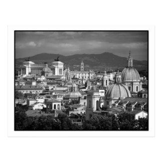 Römische Skyline-Postkarte Postkarte
