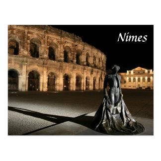 Römischer Amphitheatre Nimes Postkarte