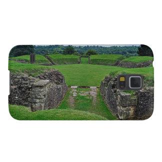 Römischer Amphitheatre ruiniert Caerleon, Wales Samsung S5 Hülle