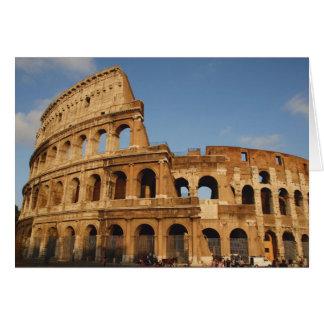 Römischer Art. Das Colosseum oder das Flavian 4 Karte