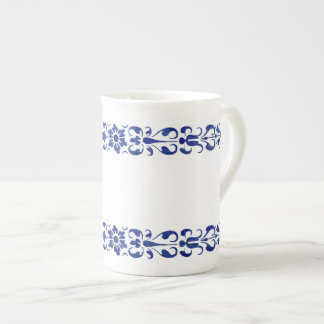 Römischer blauer dekorativer Entwurf des 16. Porzellantasse