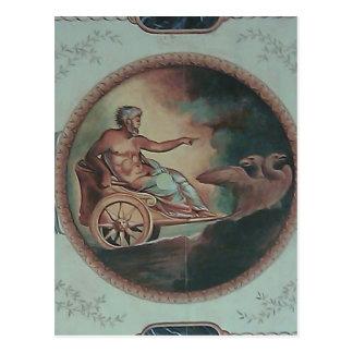 Römischer Chariot Postkarte