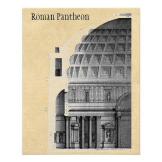 Römischer Pantheon-klassische Architektur Fotodruck