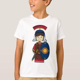 Römischer Soldat mit Schild-T - Shirt