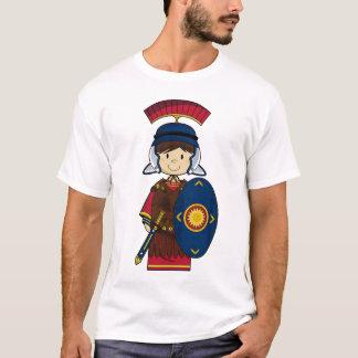 Römischer Soldat mit Schild-T-Stück T-Shirt