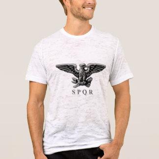 Römisches Adler-Shirt - Schwarzweiss T-Shirt