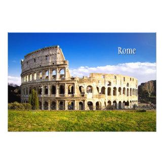 Römisches Colosseum Amphitheater besonders Fotodruck