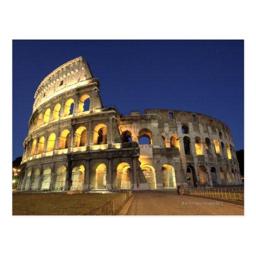 Römisches Colosseum, Rom, Italien 2 Postkarten