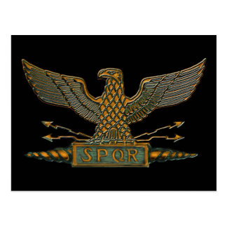 Römisches Eagle-Kupfer-Ende Postkarte