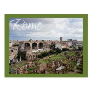 Römisches Forum Postkarte