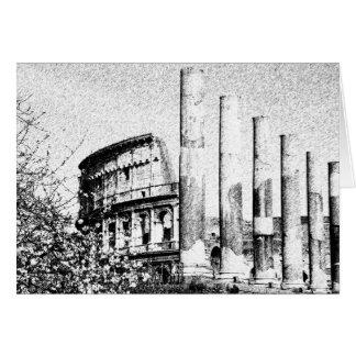 Römisches Kolosseum, Rom Italien Karte