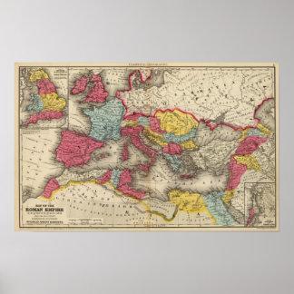 Römisches Reich 4 Posterdrucke