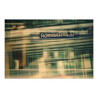 Römisches Theater Fotodruck